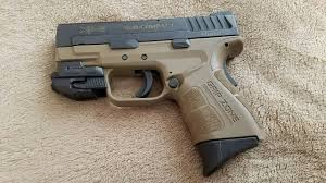 springfield xds laser light combo springfield xd mod 2 subcompact 9mm fde with crimson trace