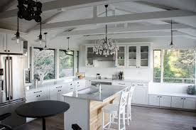 vaulted ceiling light fixtures kitchen astonishing vaulted ceiling ideas with white thenures light