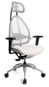 si es de bureau ergonomiques fascinant si ge ergonomique bureau fauteuil blanc cortex zoom chaise