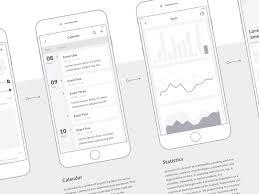90 mobile screens and hundreds of elements to create wireframes