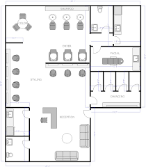 floor plans maker salon floor plans