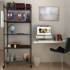 5 Shelf Wire Shelving Wire Shelving U2013 Stylish And Space Efficient Storage Solution