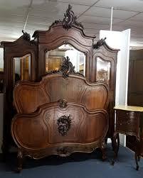 chambre napoleon 3 chambre a coucher louis xv en palissandre massif antiquités