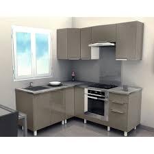 cuisine d angle pas cher cuisine équipée blanc laquée photos de design d intérieur et