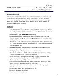 Qtp Sample Resume For Software Testers by Download Gui Testing Resume Haadyaooverbayresort Com