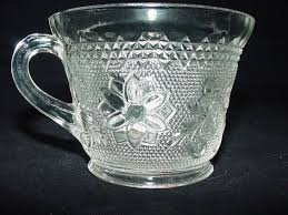 Antique Glassware Identification Early Cut Glass Marks Indiana Glass Co Early American Pattern 170 Manufactured On And
