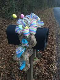 mailbox swag by williamsfloral on etsy 50 00