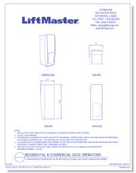 Liftmaster 8500 Garage Door Opener by Residential Garage Door Operators Caddetails