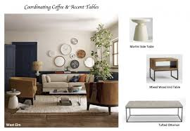 Living Room Accent Tables How To Coordinate Coffee Accent Tables Like A Designer
