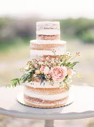 plain wedding cakes 2017 summer wedding color trends blush deserts