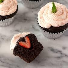 chocolate strawberry cupcakes california strawberries