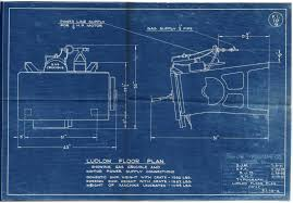 Floor Plan Blueprint Ludlow Typograph Erecting Procedures