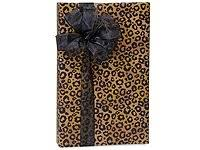 leopard wrapping paper leopard safari spots gift wrapping paper roll 24 x 15