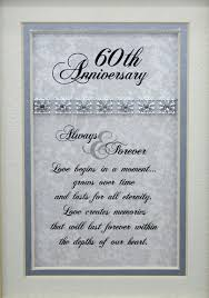 60th anniversary gift stylish 60th wedding anniversary gift ideas b85 on pictures