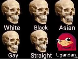 Gay Meme Asian - white black asian gay straight ugandan 1450 asian meme on me me