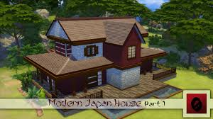 the sims 4 speed build modern japan house part 1 youtube