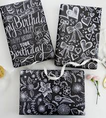 assorted chalkboard wrapping paper sheets inactive cards