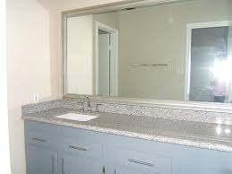 brushed nickel bathroom mirror