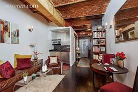 Big Loft by For 675k This Tiny West Village Studio Is Big On Rustic Loft