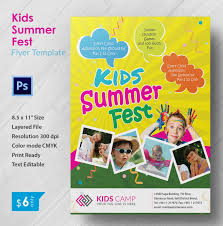 flyer layout indesign free summer c flyer templates 43 free jpg psd esi indesign kids flyer