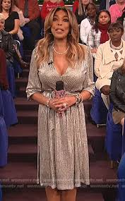 wornontv quinn s metallic thanksgiving dress on the bold and the