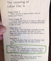 I Am The Flag The Meaning Of Labor Day Pic I Am Bored