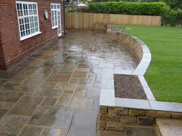 Split Level Patio Designs by Split Level Garden In Tollerton York Using Sleepers With 2 Level