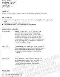 Theatre Resume Examples by Resume Raquel Asheston Resume Template Dancer Resume Samples Dance