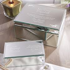 personalized bridesmaid gifts personalized bridesmaid gift mirrored jewelry boxes