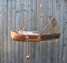 lobster boat working boat weathervane cape cod cupola