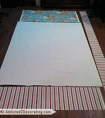 How To Make Drapery Panels With Lining Diy Pinch Pleated Lined Draperies With Two Accent Fabrics