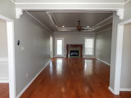 White Walls Grey Trim by Wainscoting Is Sherwin Williams Greek Villa White Walls Are Martha