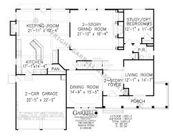 2nd Floor House Plan by Oxford F House Plan Colonial House Plans