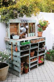 plant stand garden planting table plans plant display benchplant