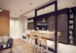 Kitchen Design With Bar Awesome Kitchen Bar Unit Contemporary Best Inspiration Home