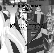 farfetch black friday kokon to zai