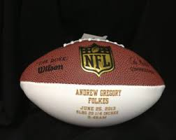 Engraved Football Gifts Engraved Football Etsy