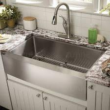 stainless steel apron sink stainless farmhouse kitchen sink ebay