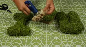 moss covered letters diy moss letters for your wedding or event