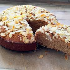 wheatfree almond coconut cake recipe kitchenbowl