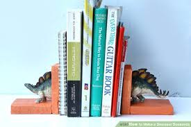 how to make a dinosaur bookends 9 steps with pictures wikihow