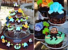jungle themed baby shower jungle themed baby shower ideas cup cakes baby shower ideas gallery