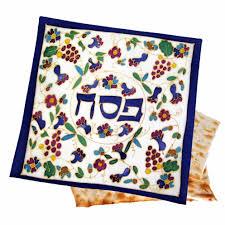 passover matzah cover silk passover matzah cover