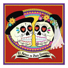 day of the dead wedding top 10 colorful day of the dead wedding invitations