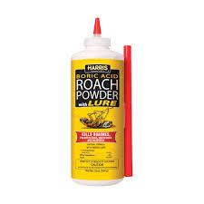 harris 16oz boric acid roach powder with lure hrp 16 dusts