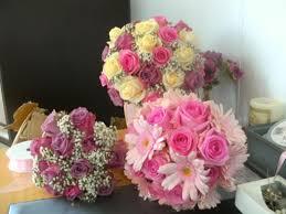 silk wedding flower packages silk flower wedding bouquets ideas