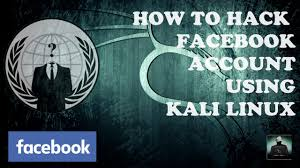 how to hack facebook using kali linux credentials harvester