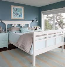 Bedroom Simple Wooden Bed Frame And Carpet Tiles Bedroom Seaside