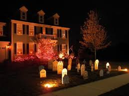 Halloween Decorations Outdoor Lighting by Outdoor Halloween Lights Office Halloween Decorating Ideas