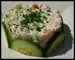 cuisiner du thon en boite tartare de tomates et concombre au thon le grand méchant cook